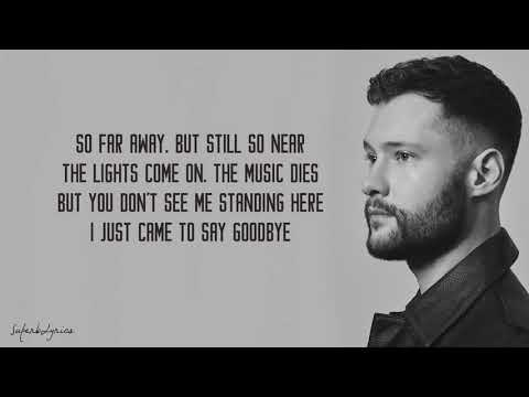 Dancing On My Own - Calum Scott (Lyrics) Mp3
