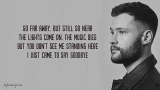 Dancing On My Own - Calum Scott (Lyrics)