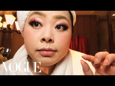 Naomi Watanabe's Guide to Glitter Eyes and Bold Lips   Beauty Secrets   Vogue