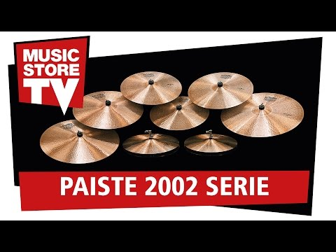 PAISTE 2002 Becken Serie / Cymbal Series Soundcheck