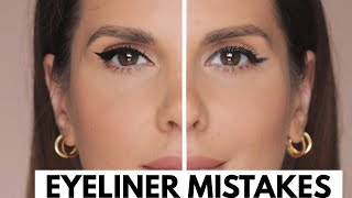 EYELINER MISTAKES AND HOW TO CORRECT THEM   ALI ANDREEA