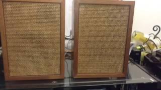 Vintage Speaker Restoration XAM 4D speakers