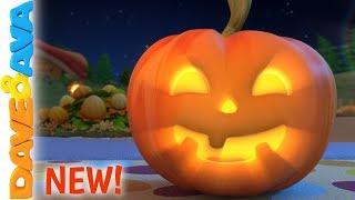 🎃Little Pumpkin - Halloween Songs | Nursery Rhymes by Dave and Ava 🎃