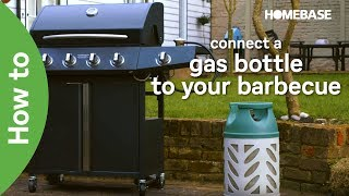 How to connect a gas bottle to your barbecue   Garden Goals   Homebase