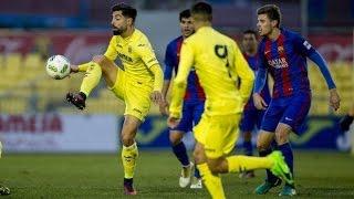 [HIGHLIGHTS] FUTBOL (2AB): Vila-real B - FC Barcelona B (2-0)