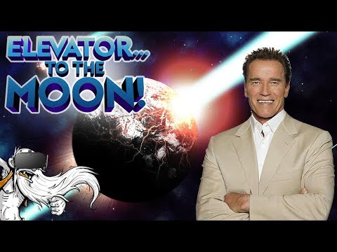 Elevator To The Moon VR Gameplay -