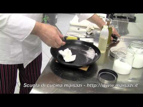 Scuola di cucina: la pulizia della padella di ferro