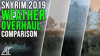 BEST WEATHER OVERHAULS Compared! Dolomite, Vivid, Obsidian & More   Skyrim SE Mods 2019