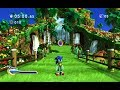 Sonic Generations - Green Hill Zone (Pitch Down -1 Modern) (Master System Remix) Music Extended