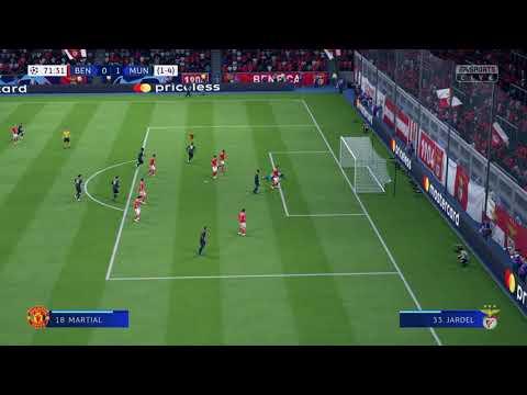 Martial ends Benfica...