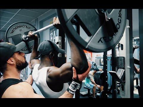 Les tiraillements des muscles à tout