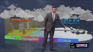 What led to rare snowfall in Houston? Brooks Garner explains