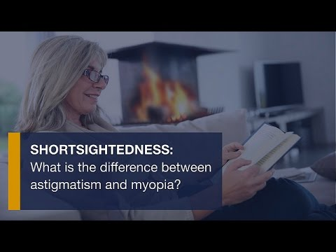 A látás megváltozásának oka hyperopiaról rövidlátásra