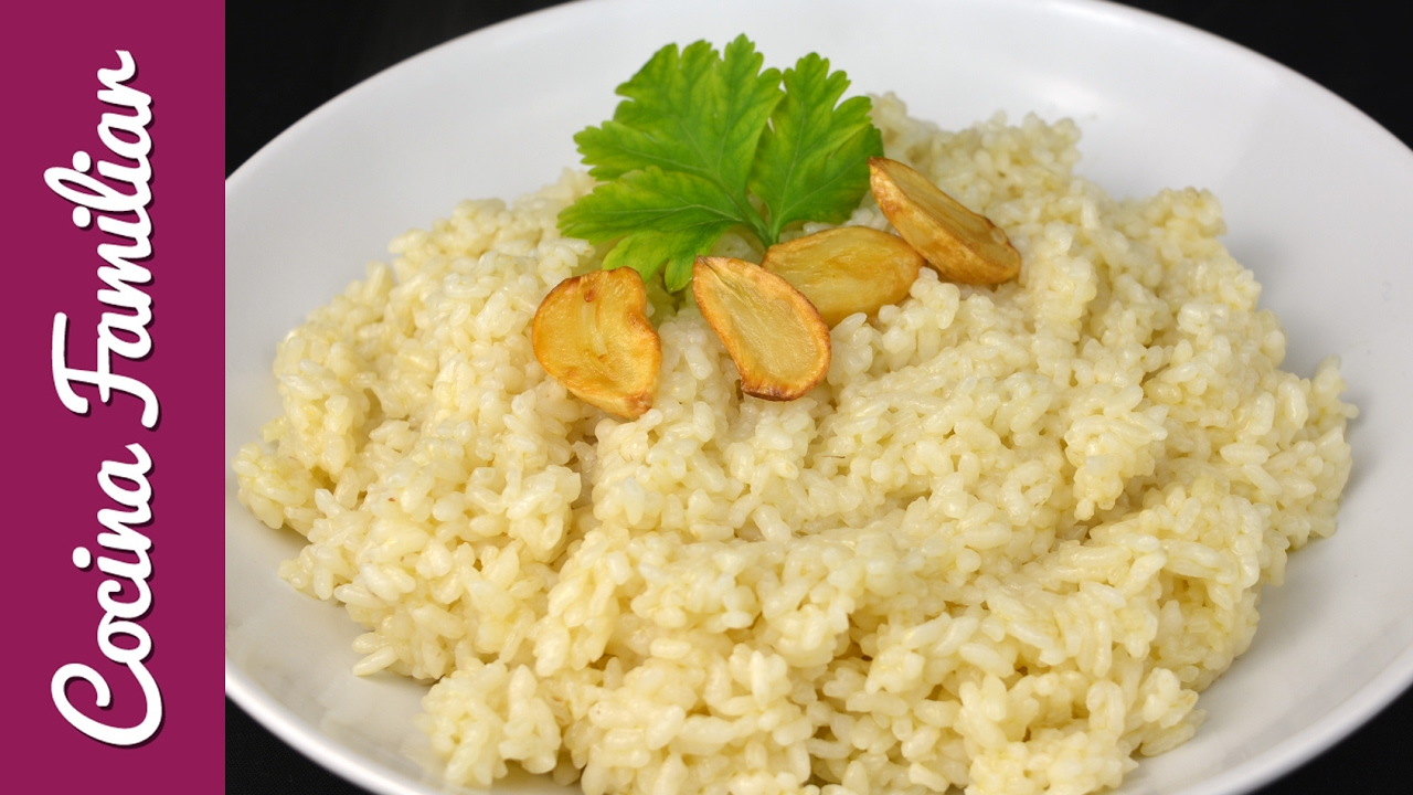 Como hacer arroz blanco con la Olla GM | Javier Romero