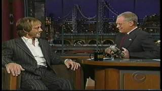 Warren Zevon - His Last David Letterman Show on October 30, 2002 - Part 1/4 (HD)