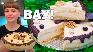 Карамелька, Самый вкусный Торт без выпечки за 15 минут!
