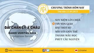 CHƯƠNG TRÌNH PHÁT THANH, THỨ BẢY 21092019
