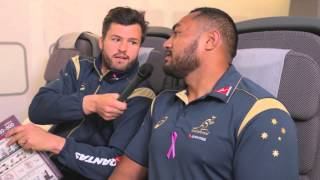 Adam Ashley-Cooper Tackles The Serious Side Of Travel - Part 2