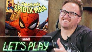 Swinging around New York City with Venom artist Ryan Stegman | Marvel Let's Play
