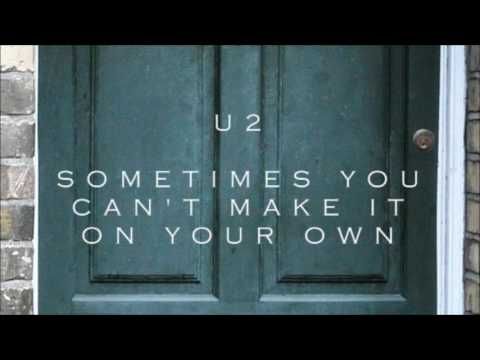 U2 - Sometimes You Can't Make It On Your Own (Instrumental Acoustic Cover)