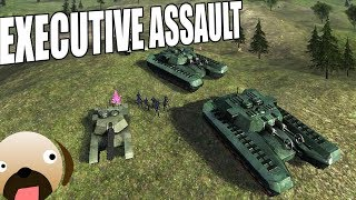 CORPORATION WARS! Real Time Strategy Game - Executive Assault Gameplay