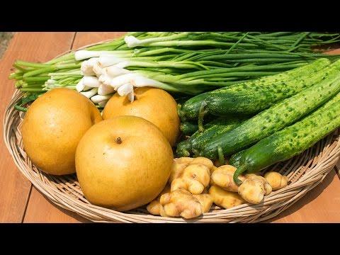 How to make Korean White Kimchi