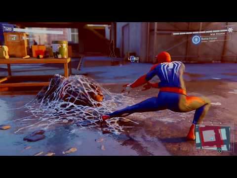 Marvel's Spider-Man Gameplay – Stealth and Combat