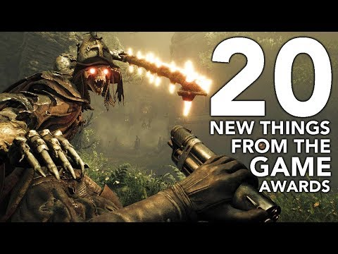 20 New Things Announced At Game Awards 2017