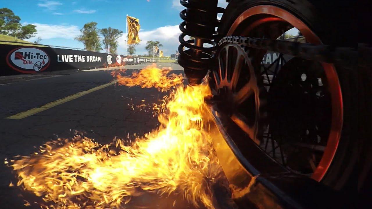 GoPro Tears Up Sydney Motorsport Park With Crazy Motorbike Stunts