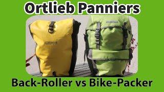 Ortlieb Panniers - Back Roller vs Bike Packer Plus