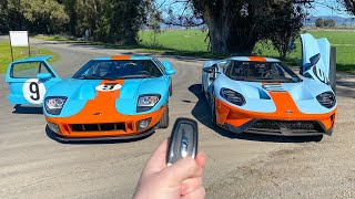 What It's Like To Drive A '19 and '06 Ford GT (POV Drive!) INSANE EXHAUST! by Vehicle Virgins