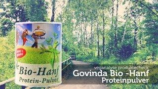 Govinda Hanfprotein Eiweisspulver   Produktecheck (Test)