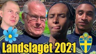 Landslaget till EM 2021 (Parodi)