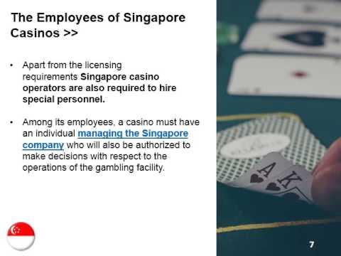 Singapore casino license red warriors casino drive mp3