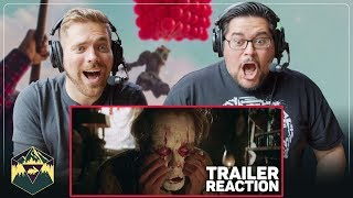IT Chapter Two - Official Teaser Trailer Reaction