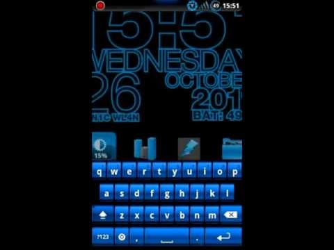 Video of Steel Blue Theme for CM7