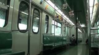 マニラLRT1号線 3G-Train 車内の様子(Roosevelt→Balintawak)
