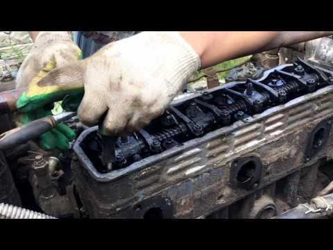 Разбираем двигатель трактора, который стоял 10 лет