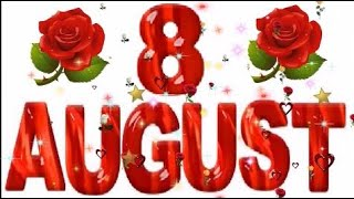 8 August Special Birthday
