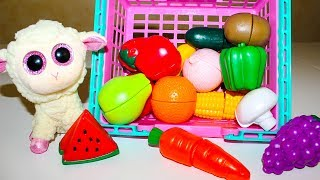 Развивающие видео для детей Играем и учим овощи и фрукты Игры и песенки для малышей