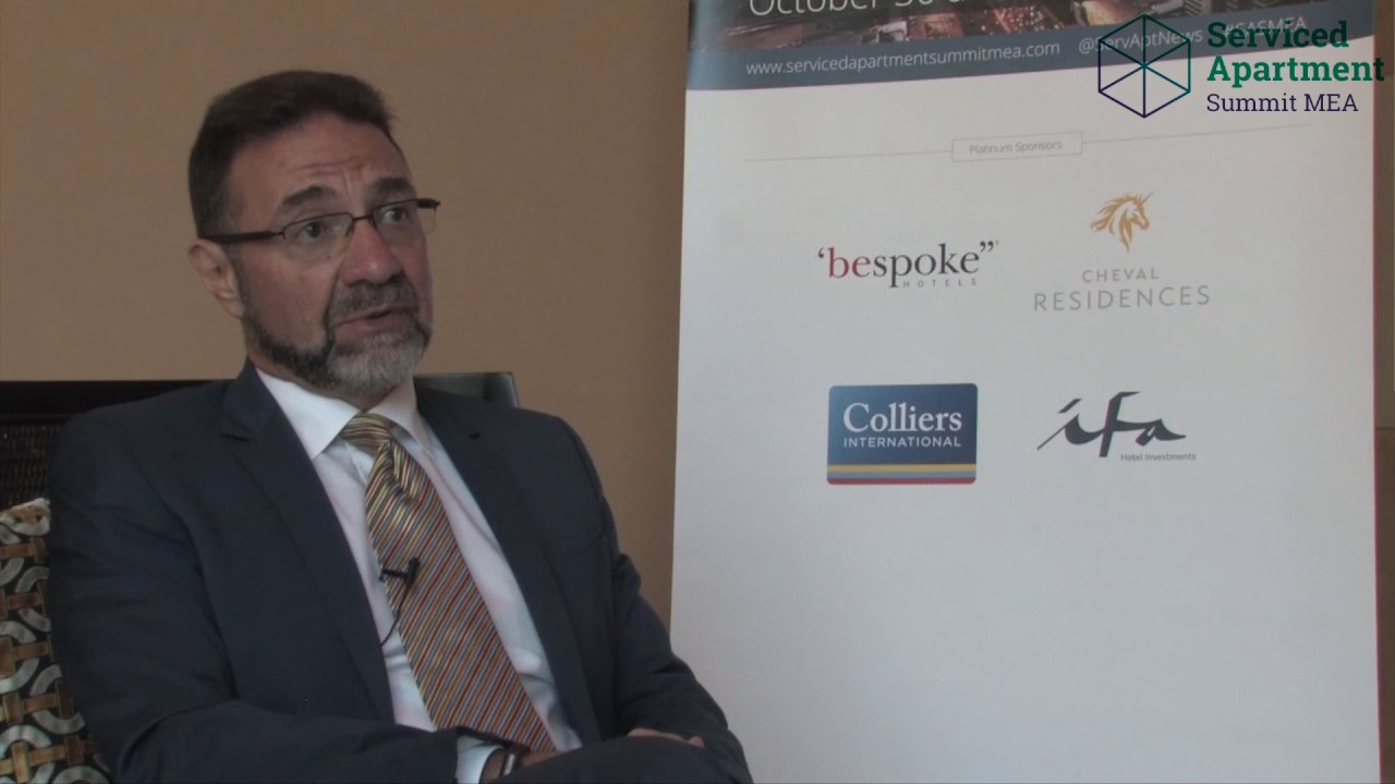 Serviced Apartment Summit MEA 2016 interviews: Joe Sita, IFA Hotel Investments