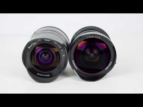 7.5mm f/2.8 Ultra-Wide Angle + Fisheye for $139!