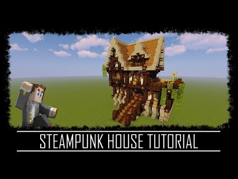 Steampunk Styled House Schematic Minecraft Project