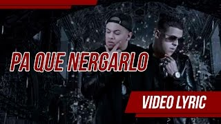 Pa' Que Negarlo (Audio) - Gotay El Autentiko (Video)