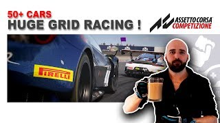 Assetto Corsa Competizione - Gamer Muscle Huge Grid Racing 50+ cars