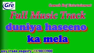 duniya haseeno ka mela karaoke with lyrics - TH-Clip