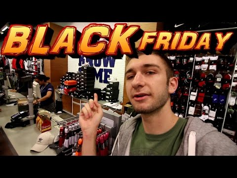 THIS IS RIDICULOUS... BLACK FRIDAY SNEAKER SHOPPING