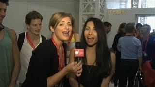 Anggun - Australian Interview with Julia Zemiro + Echo (You & I) with commentary - SBS Australia