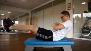 preview picture of video 'Time Out Küssnacht - Bein & Rumpftraining Thomas Pfyl'