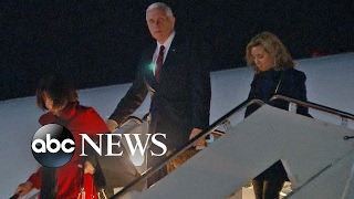 VP Pence travels overseas to try to reassure EU allies